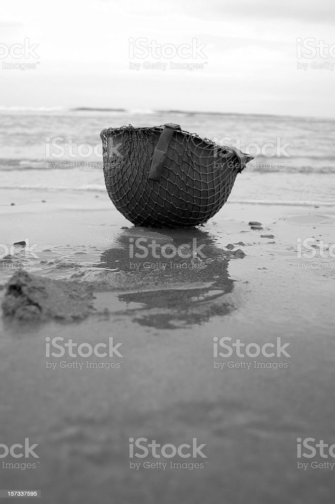 Disaster at Slapton Sands. royalty-free stock photo
