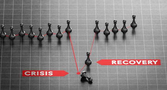 istock Disaster Recovery. Business Continuity Plan After Crisis. 1214504384