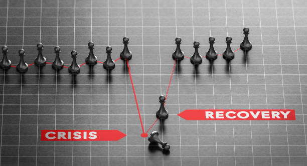 Disaster Recovery. Business Continuity Plan After Crisis. – Foto