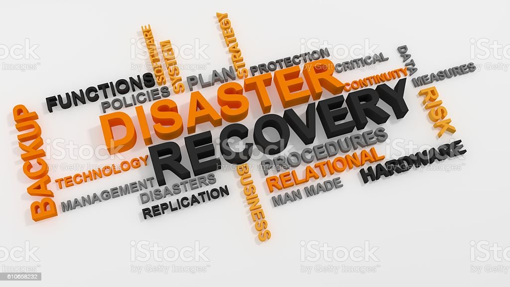 Disaster Recovery stock photo