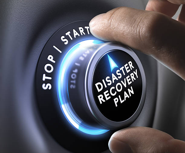 Disaster Recovery Plan - DRP DRP switch button accidents and disasters stock pictures, royalty-free photos & images