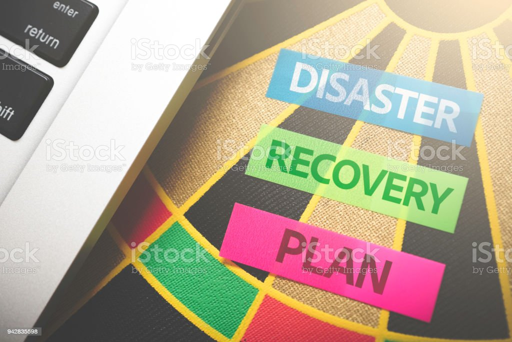 Disaster Recovery Plan stock photo