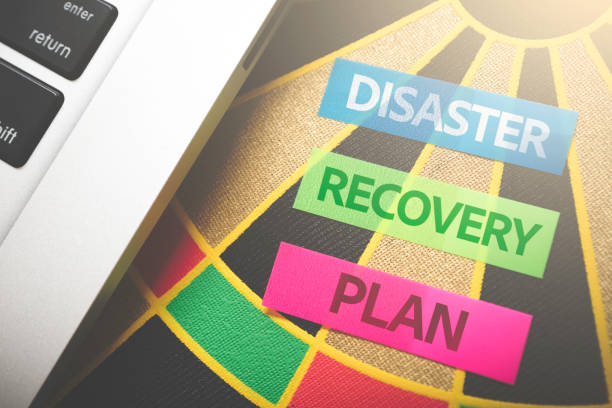 Disaster Recovery Plan - foto stock