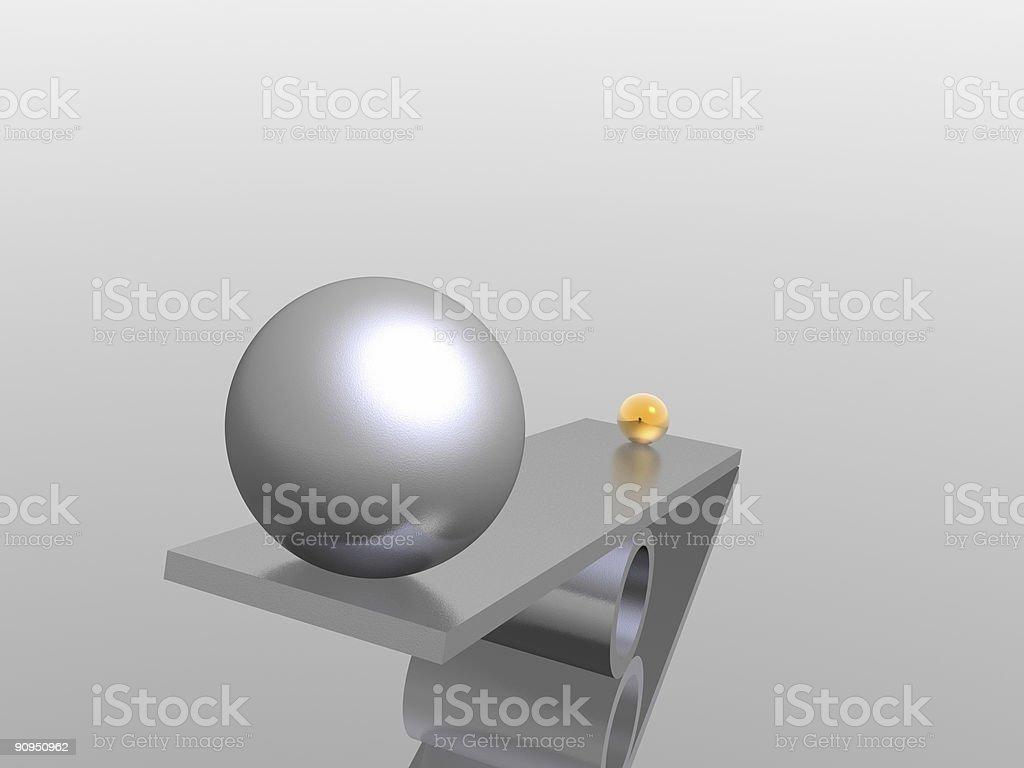 disbalance royalty-free stock photo