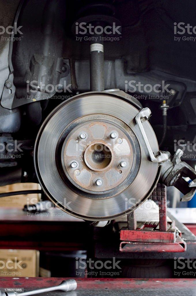 Disc Brake royalty-free stock photo