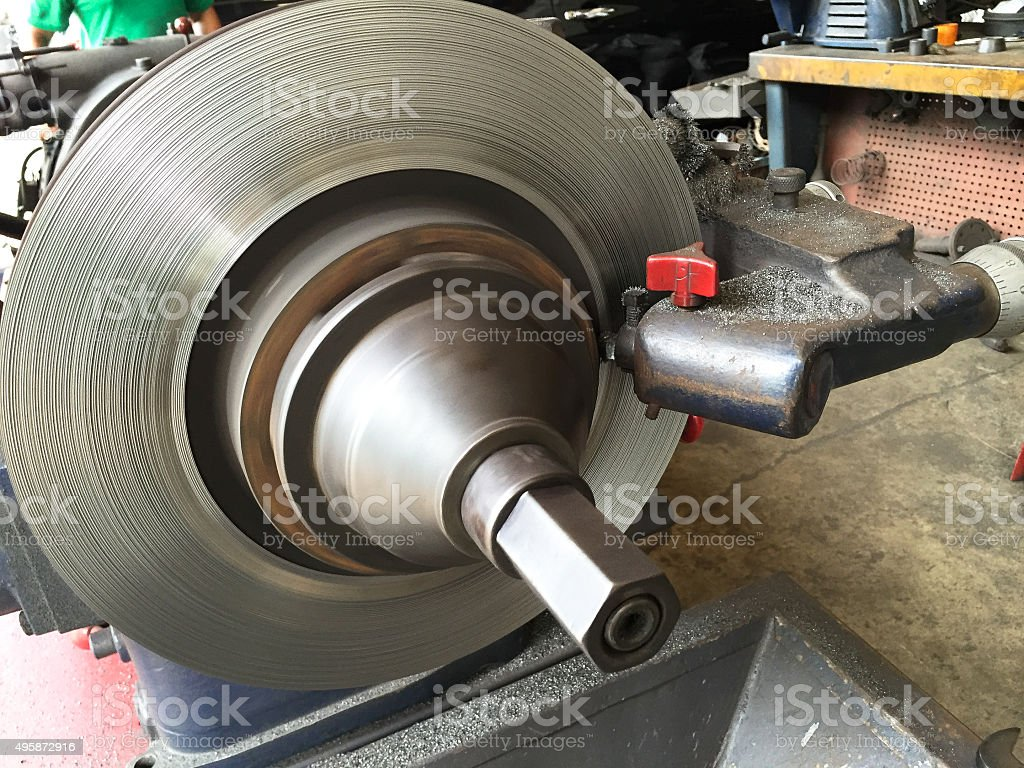 disc brake stock photo