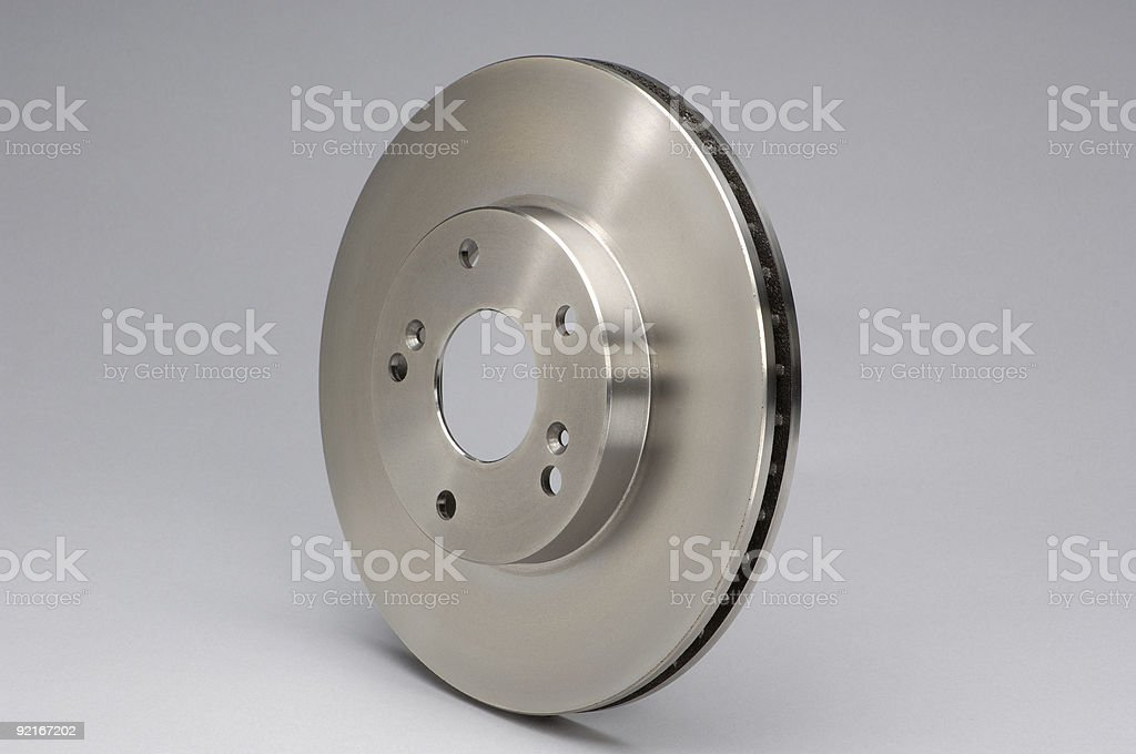 Disc Brake Rotor stock photo