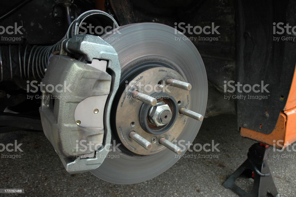 Disc Brakes stock photo