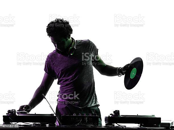 Disc jockey man silhouette picture id474183189?b=1&k=6&m=474183189&s=612x612&h=ilzev8exz1ga0k2uftuaz2d3lbgkxetmadd6j8sj0bw=