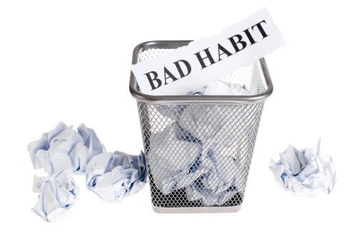 discard bad habit