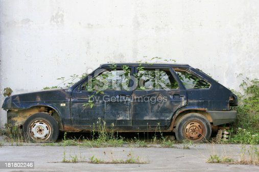 istock discarded old car 181802246