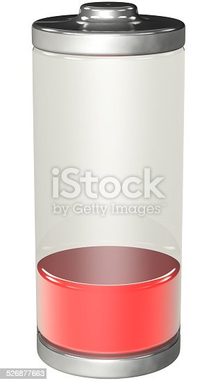 istock discharged battery 526877663
