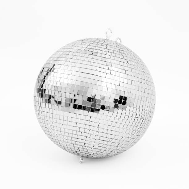 disco background concepts. - disco ball stock pictures, royalty-free photos & images