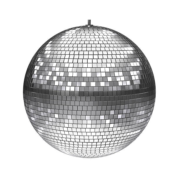 disco ball 3d illustration stock photo