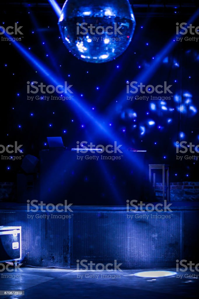 Bola de discoteca - fundos de entretenimento - foto de acervo