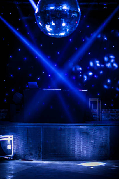 disco ball - entertainment backgrounds - dance floor stock photos and pictures