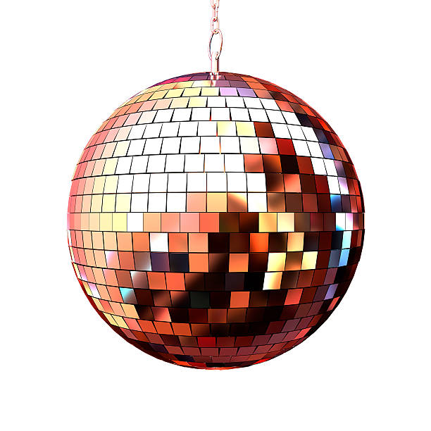 disco ball Isoliert – Foto