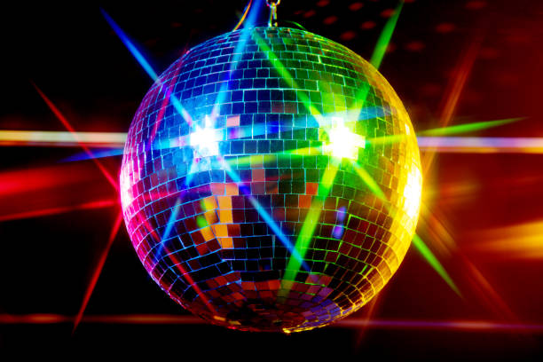 disco ball - disco ball stock pictures, royalty-free photos & images
