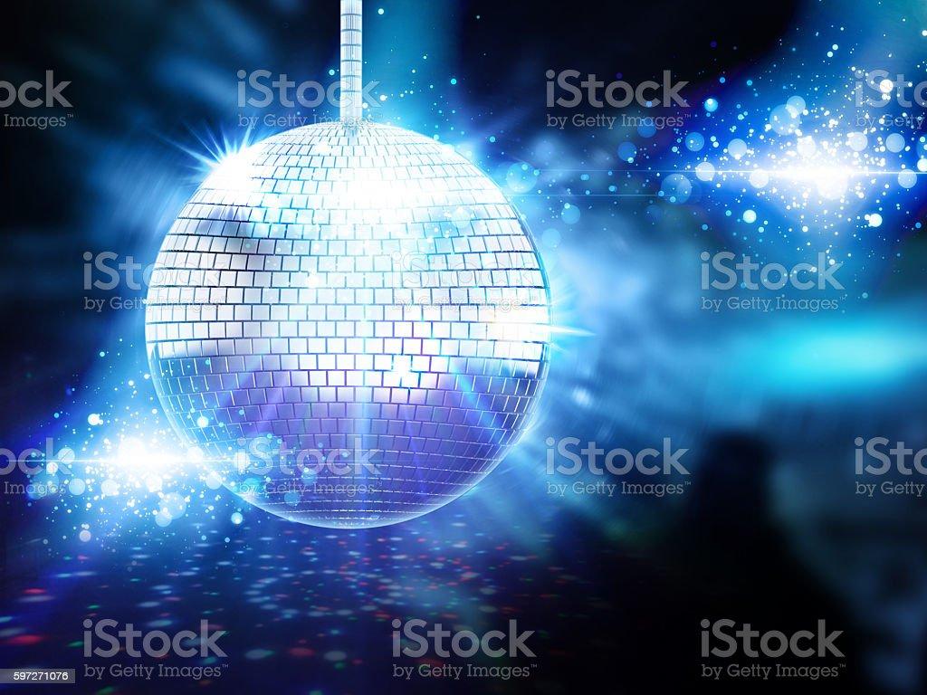 Disco ball  Lizenzfreies stock-foto