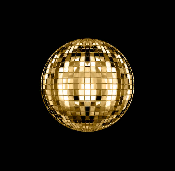 Disco ball 3D rendering of disco ball disco ball stock pictures, royalty-free photos & images