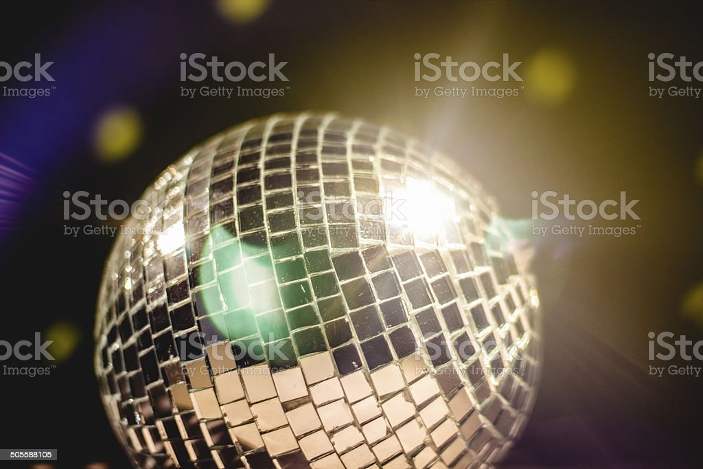 Disco Ball With Reflections stock photo