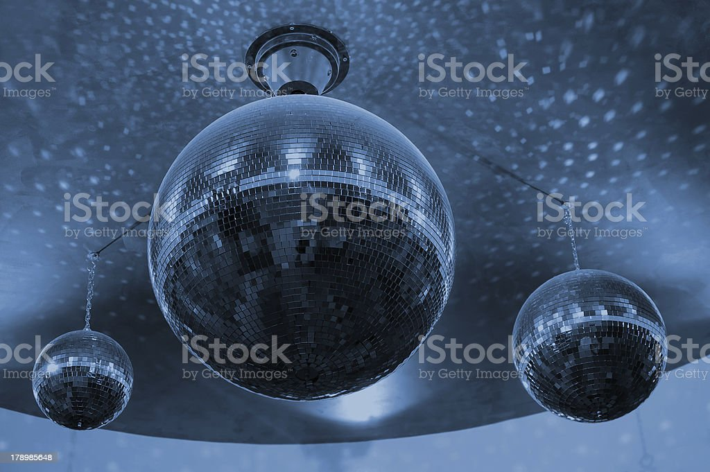 Disco Balls royalty-free stock photo