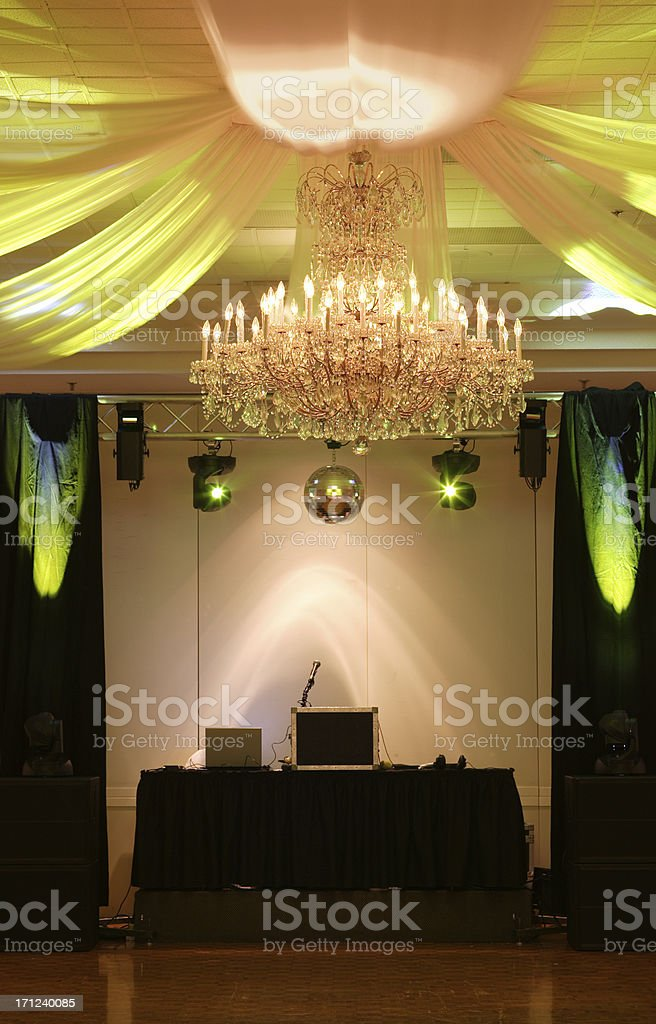 Disco Booth royalty-free stock photo