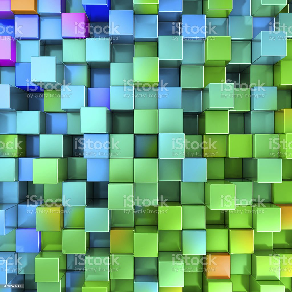 Disco colorful digital box background royalty-free stock photo