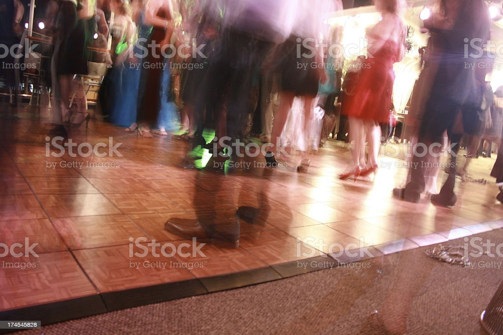 disco dance hall stock photo