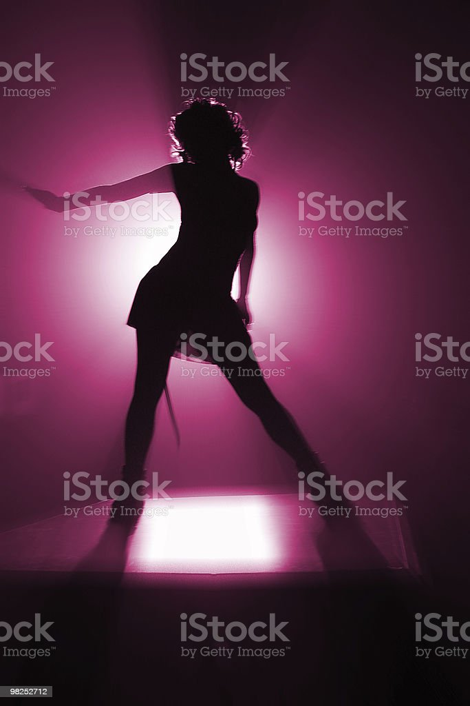 disco dancer royalty-free stock photo