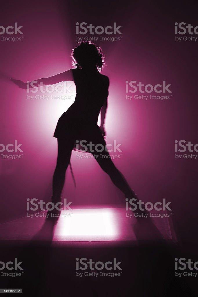 Discoteca Ballerino foto stock royalty-free