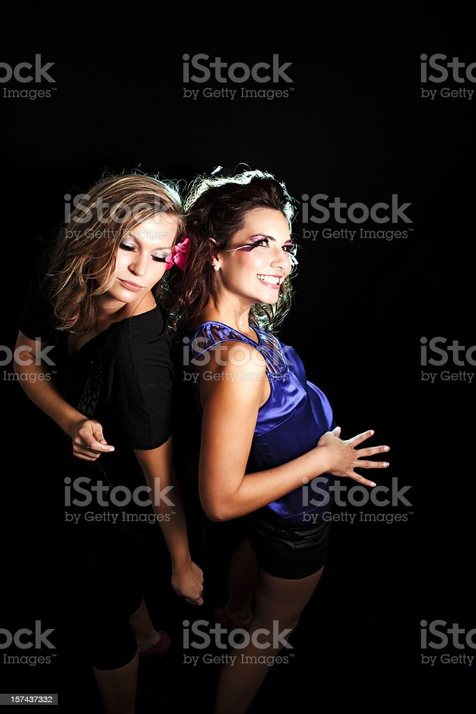 Disco Dancing royalty-free stock photo