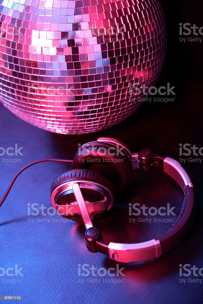 Disco fever royalty-free stock photo