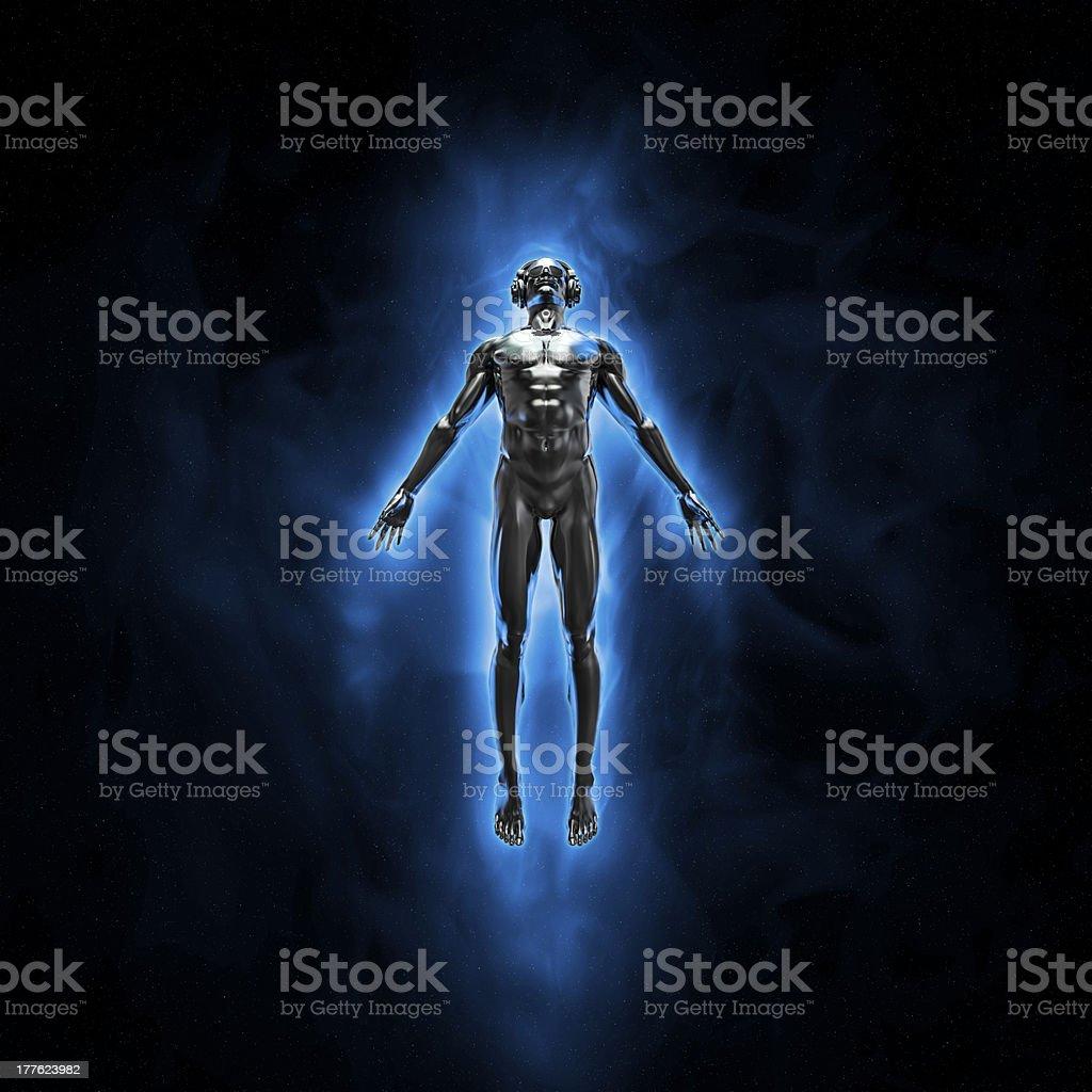Disco god royalty-free stock photo