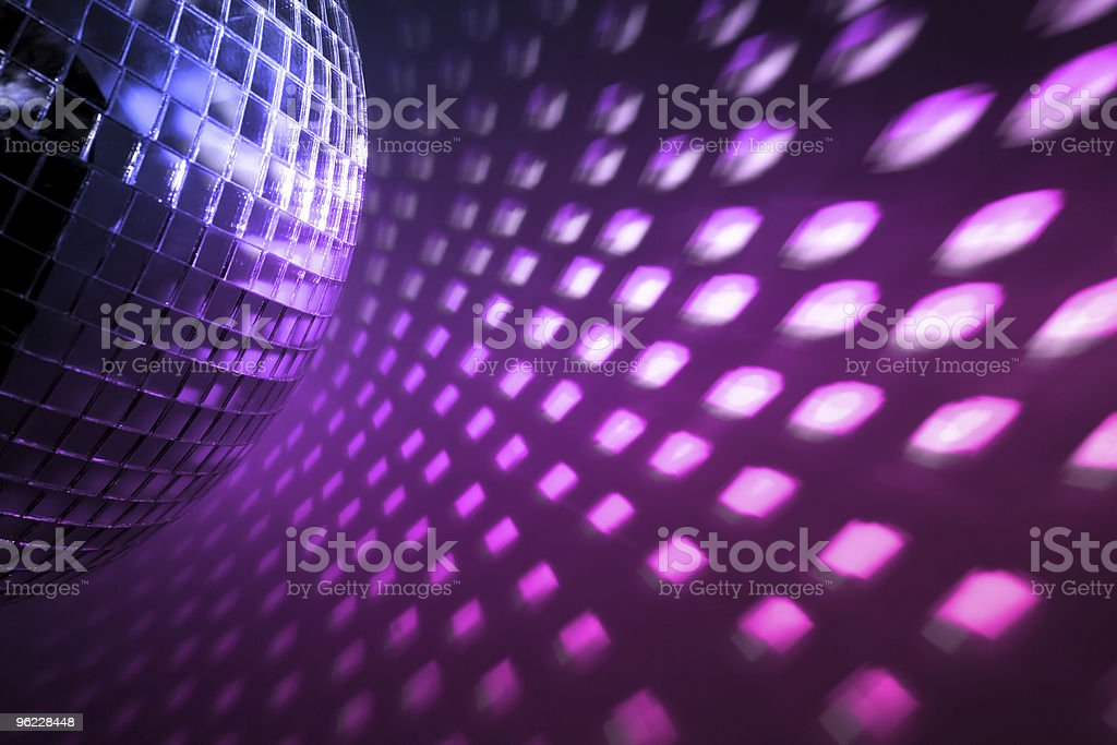 disco lights backdrop stock photo