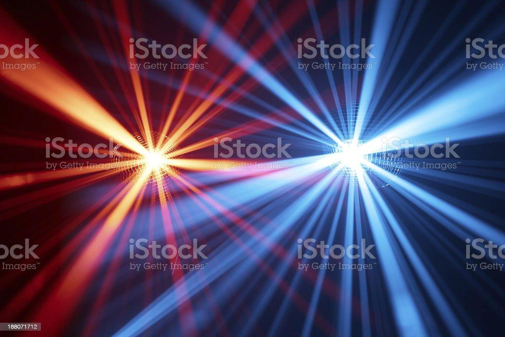 disco lights background stock photo