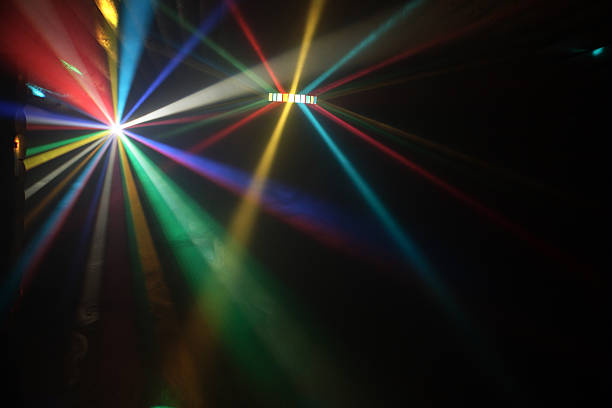 disco lights - disco lights stock photos and pictures