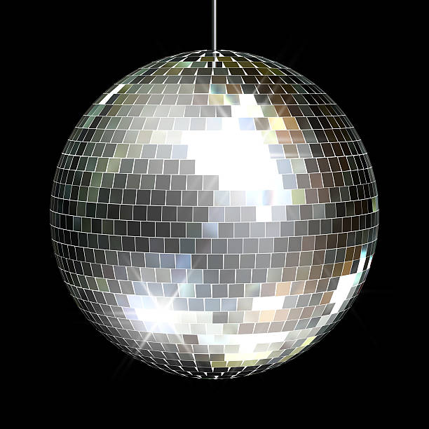 disco mirror ball - disco ball stock pictures, royalty-free photos & images