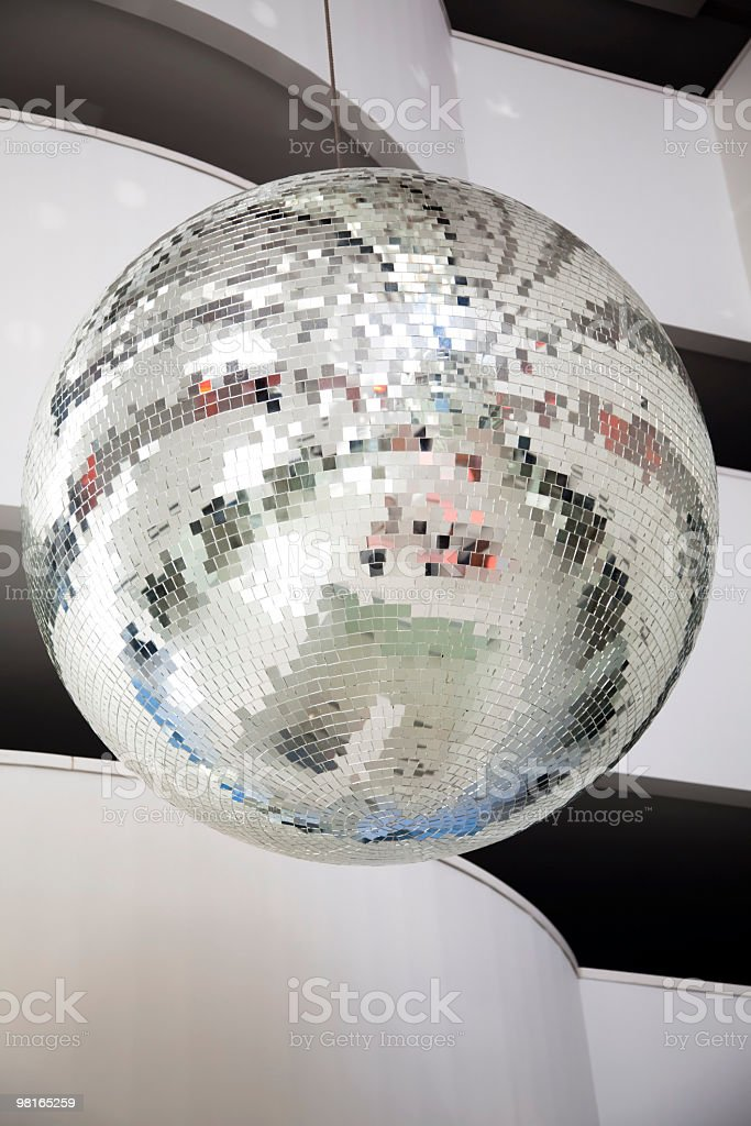 Disco Mirrorball royalty-free stock photo