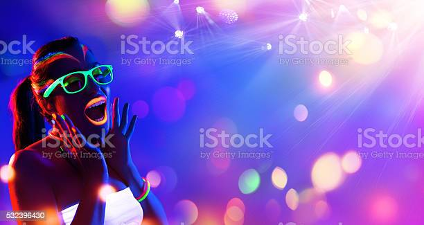 Disco woman with neon makeup picture id532396430?b=1&k=6&m=532396430&s=612x612&h=mihhzctpbukjhitlipe8m5anxgrcwpjgl z mvrmjqe=