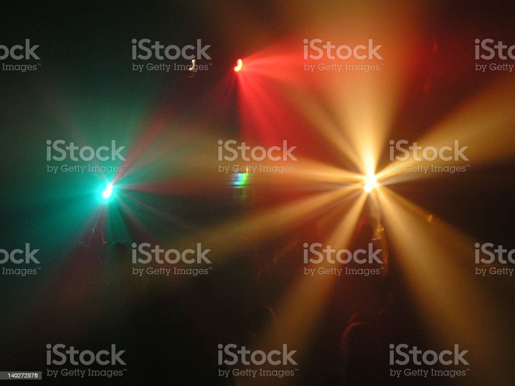 Discolights stock photo