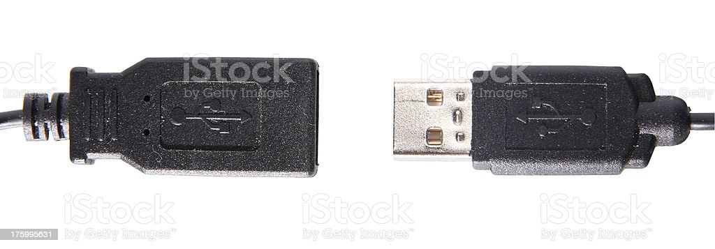 Disconnected royalty-free stock photo
