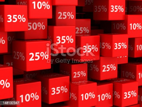 istock Discount background 148132347