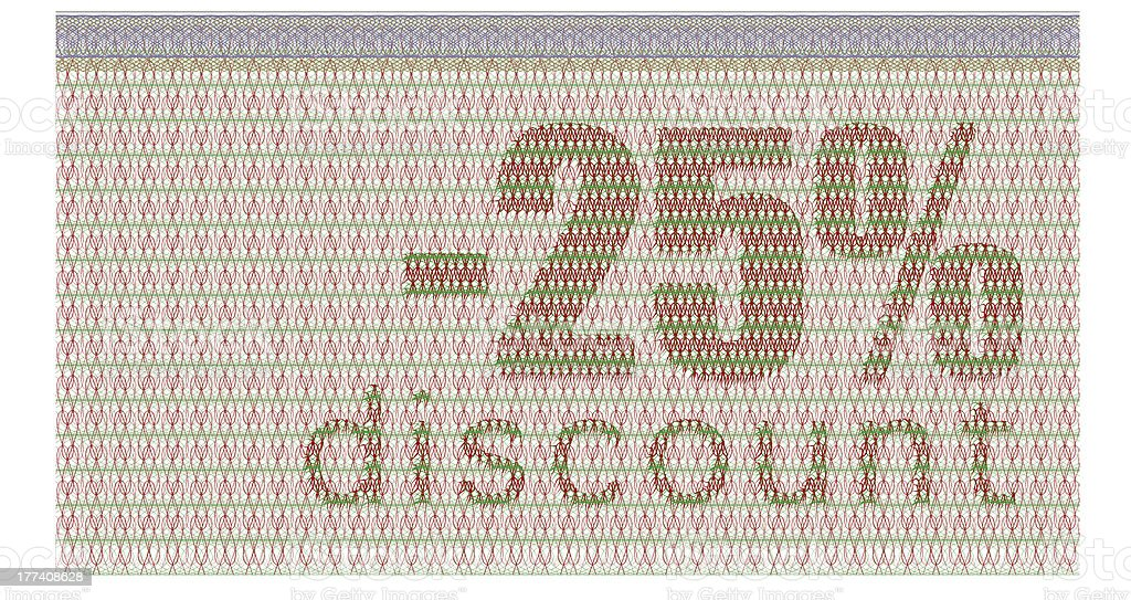 discount coupon -25% royalty-free stock photo