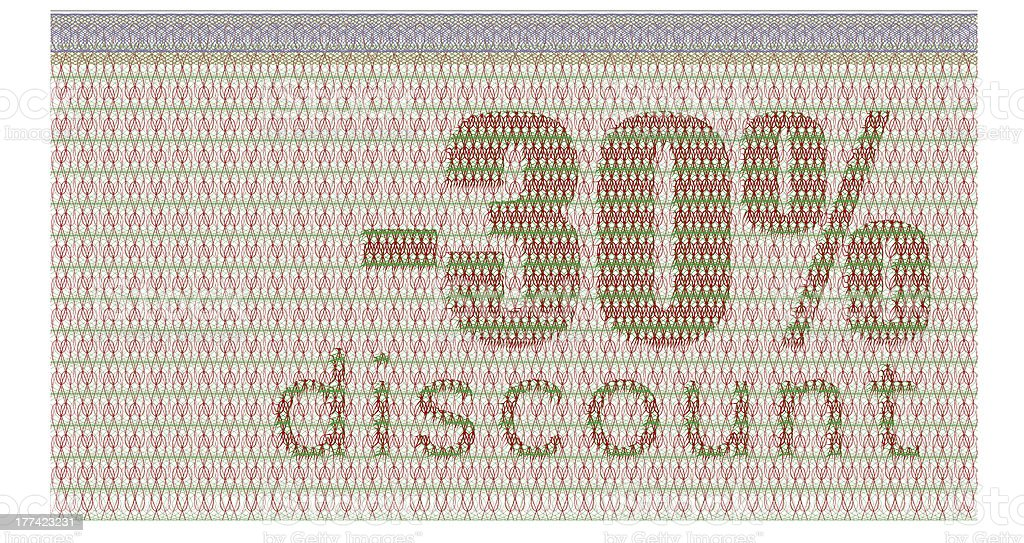 discount coupon -30% royalty-free stock photo