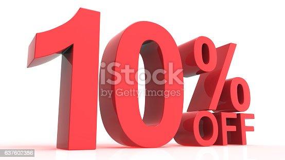 Discount Off 10 Percent