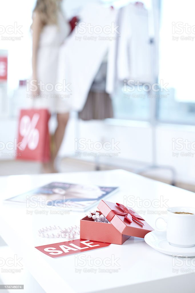 Discount store royalty-free stock photo