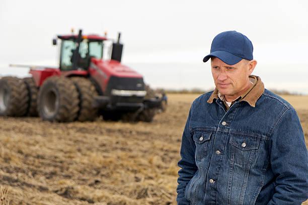 Entmutigt Farmer – Foto