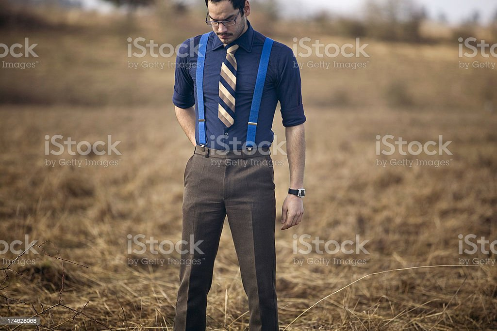 Discouraged Young Man royalty-free stock photo