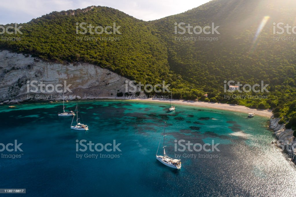 Discover Greece - Atokos island stock photo